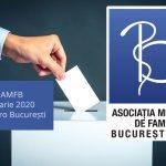 Anunț validare candidați înscriși pentru alegerile AMFB – Februarie 2020