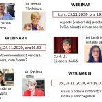 Webinarii AMFB – 23, 24 și 26 noiembrie 2020